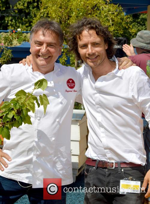 Raymond Blanc and Oli Blanc 4