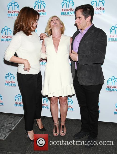 Tina Fey, Jane Krakowski and Seth Rudetsky 3
