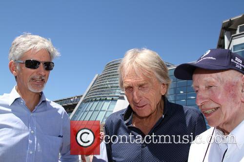 Damon Hill, Derek Bell and John Surtees 2
