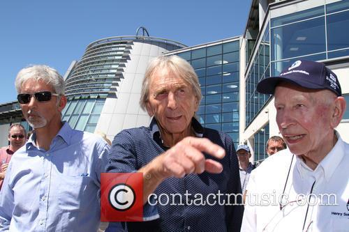 Damon Hill, Derek Bell and John Surtees 4