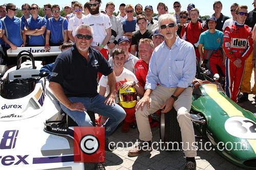 Paul Hollywood and Damon Hill 3