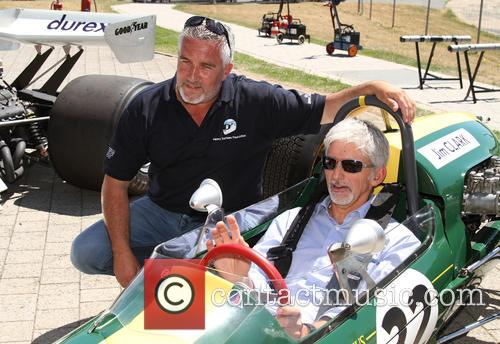 Paul Hollywood and Damon Hill 5