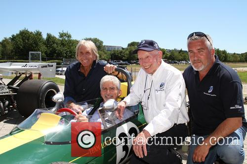 Derek Bell, Damon Hill, John Surtees and Paul Hollywood 1