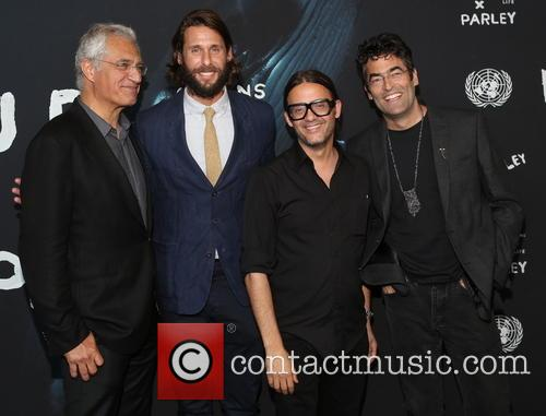 Louie Psihoyos, David Rothschild, Cyrill Gutsch and Chris Jordan