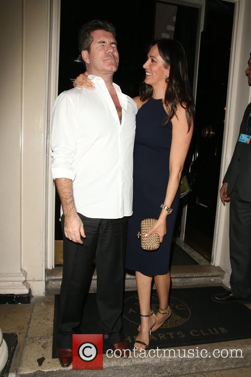 Simon Cowell and Lauren Silverman 1