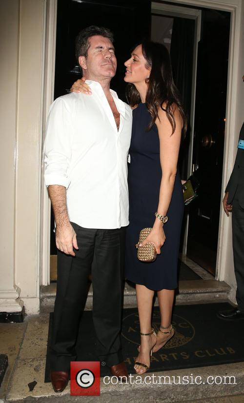 Simon Cowell and Lauren Silverman 9