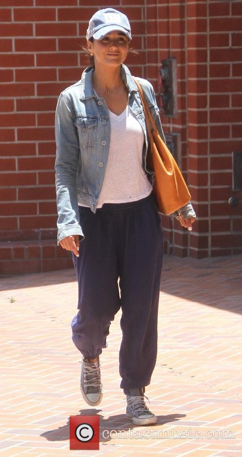 Emmanuelle Chriqui goes shopping in Beverly Hills