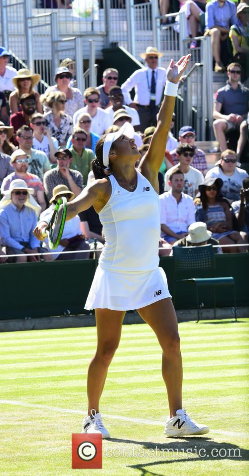 Wimbledon, Heather Watson and Tennis 3