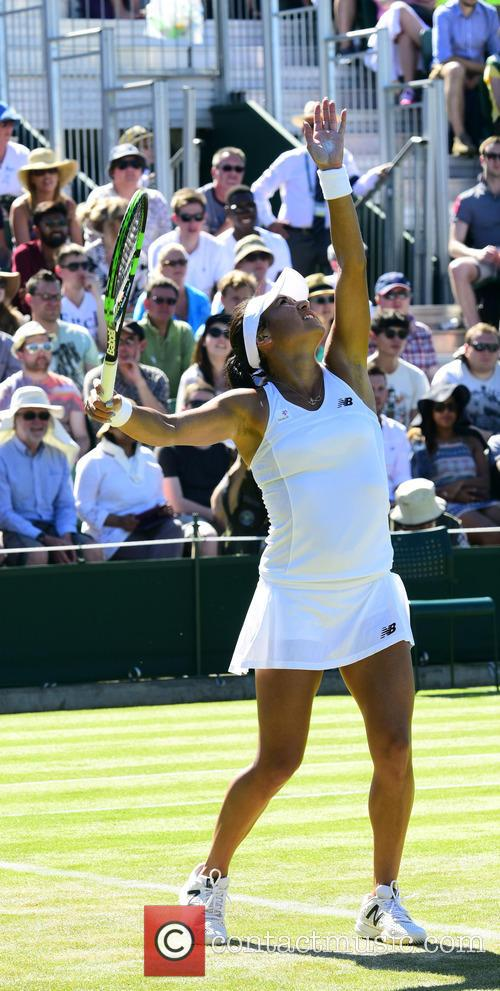Wimbledon, Heather Watson and Tennis 4