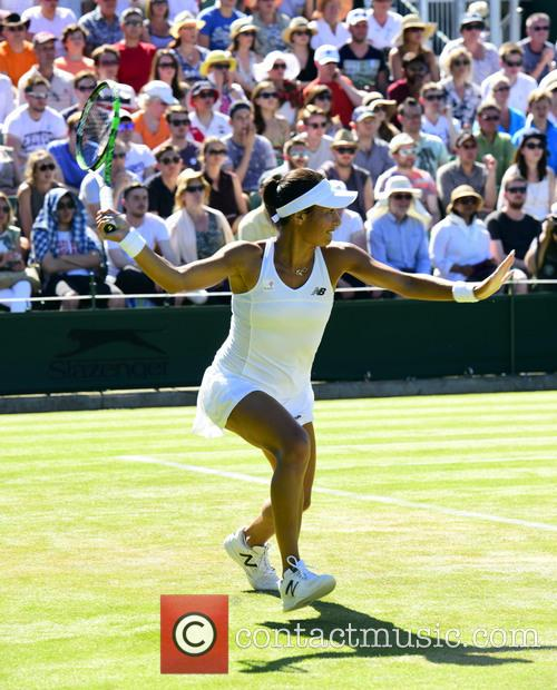 Wimbledon, Heather Watson and Tennis 5