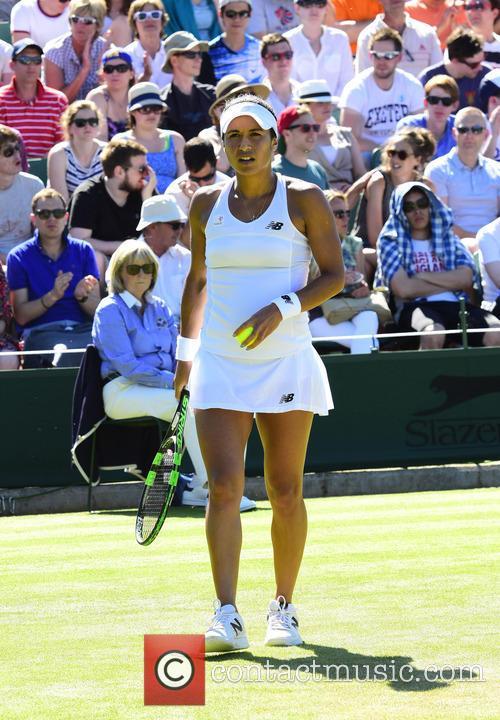 Wimbledon, Heather Watson and Tennis 7