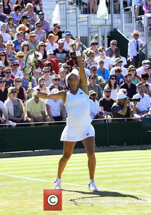 Wimbledon, Heather Watson and Tennis 9