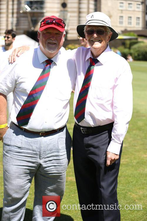 Michael Parkinson and Mike Gatting 6