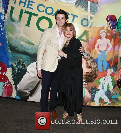 Michael Urie and Patti Lupone 2
