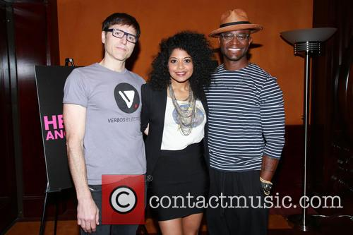 Stephen Trask, Rebecca Naomi Jones and Taye Diggs