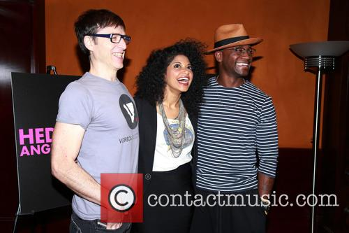 Media day for Taye Diggs in 'Hedwig and...