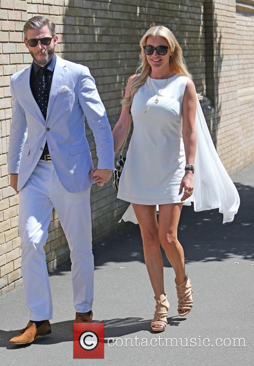 Denise Van Outen and Eddie Boxshall 6