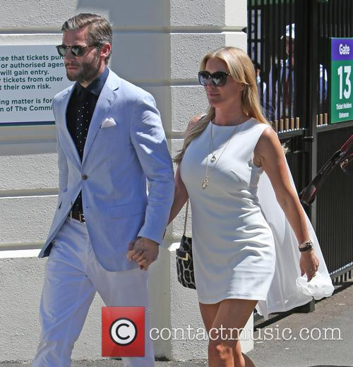 Denise Van Outen and Eddie Boxshall 9