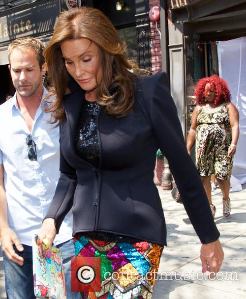 Caitlyn Jenner leaves Patricia Field's store