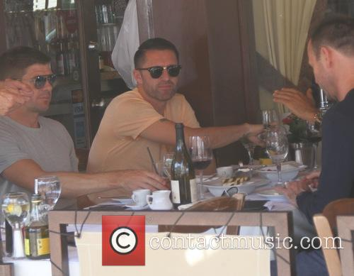Robbie Keane has lunch at Il Pastaio
