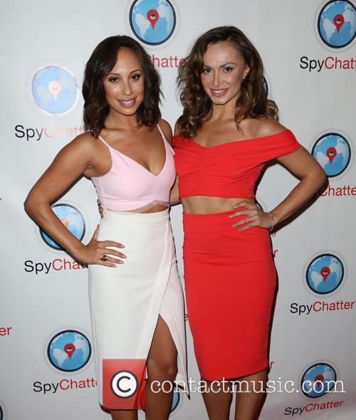 Cheryl Burke and Karina Smirnoff 4
