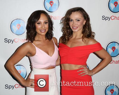 Cheryl Burke and Karina Smirnoff 6