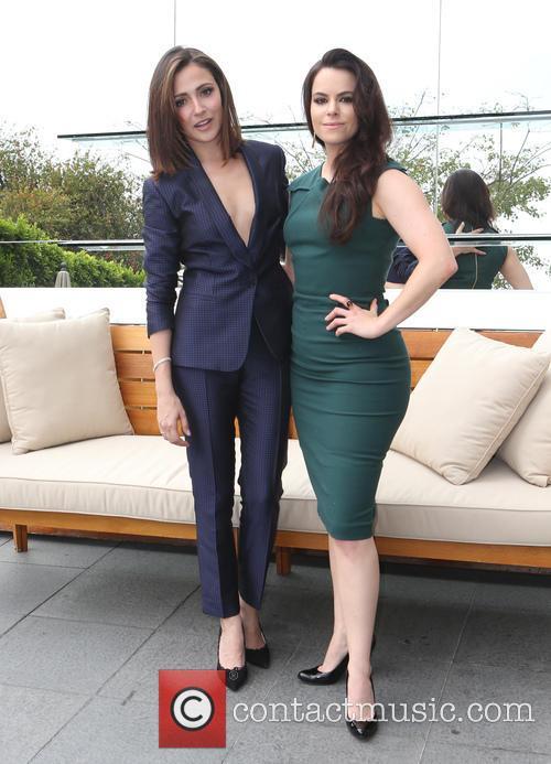 Italia Ricci and Emily Hampshire 4