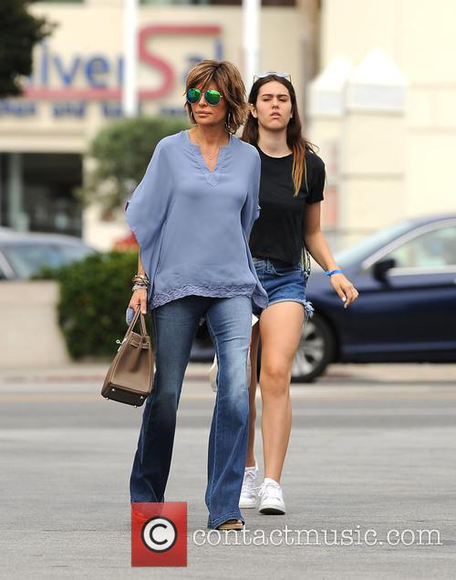 Lisa Rinna and Amelia Hamlin 1