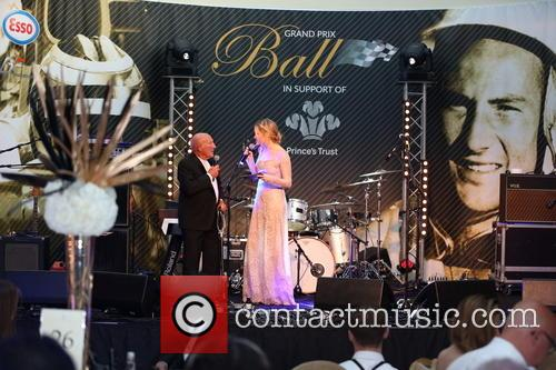 Sir Stirling Moss and Laura Whitmore 2