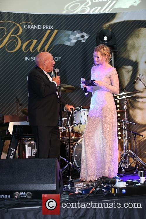 Sir Stirling Moss and Laura Whitmore 1