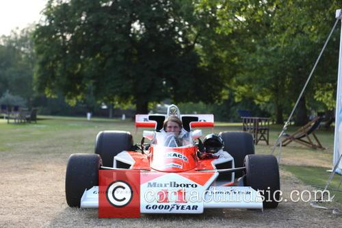Freddie Hunt and In His Fathers - James Hunt Former Car 9