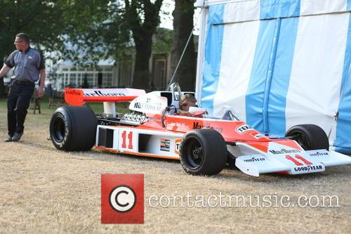 Freddie Hunt and In His Fathers - James Hunt Former Car 10