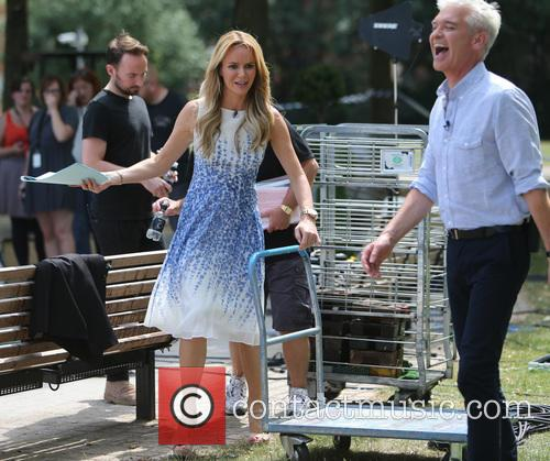 Amanda Holden and Philip Schofield 5