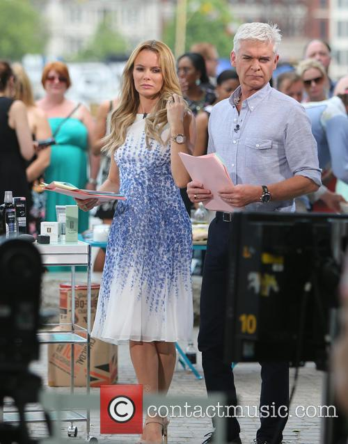 Amanda Holden and Philip Schofield 11
