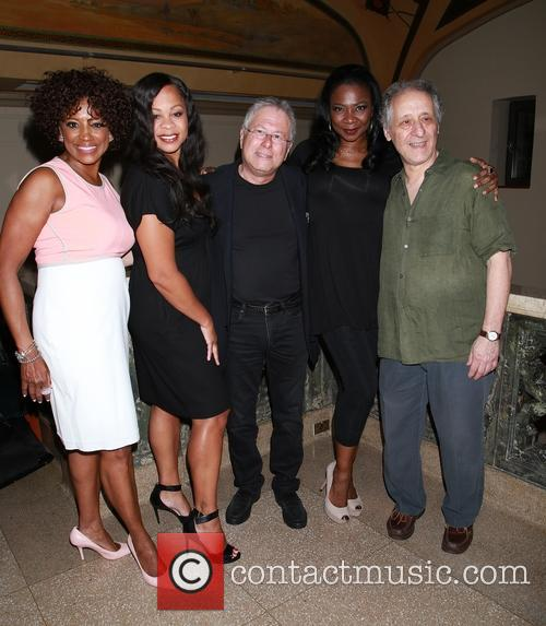 Horrors, Marva Hicks, Tracy Nicole Chapman, Alan Menken, Ramona Keller and Joe Grifasi 5