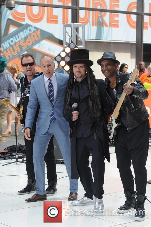Matt Lauer, Boy George and Culture Club 2