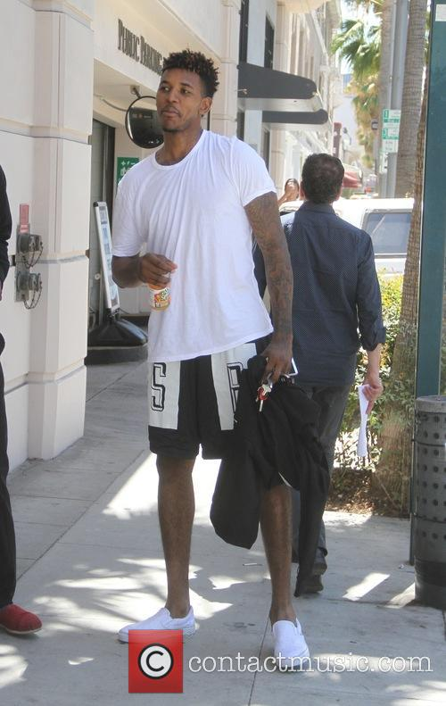 Iggy Azalea's recent fiancé Nick Young goes shopping...