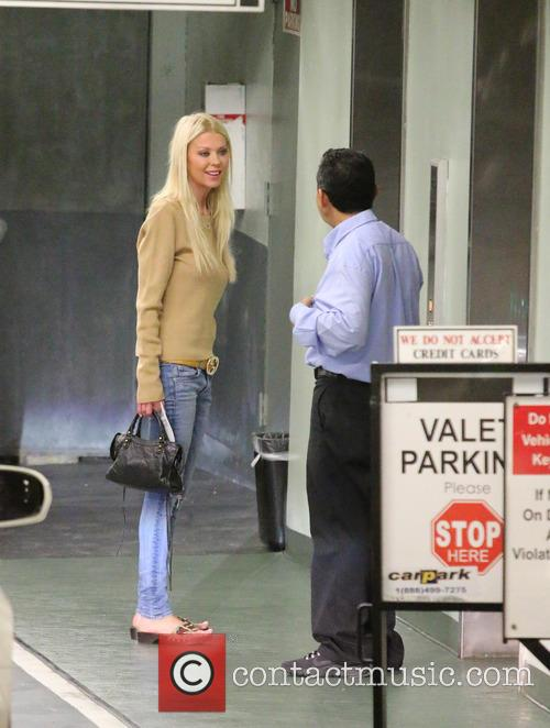 Tara Reid arrives at a doctor's office in...