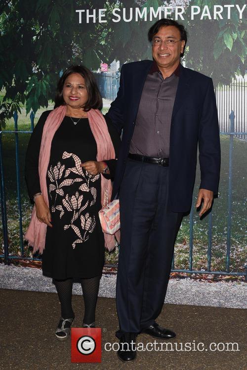 Lakshmi Mittal and Usha Mittal 5