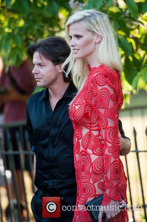 Christopher Kane and Lara Stone 2