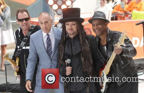 Boy George, Matt Lauer, Roy Hay and Mikey Craig