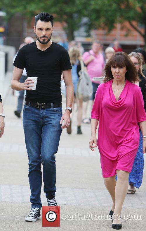 Rylan Clark and Arlene Phillips 4