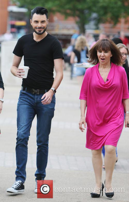 Rylan Clark and Arlene Phillips 5