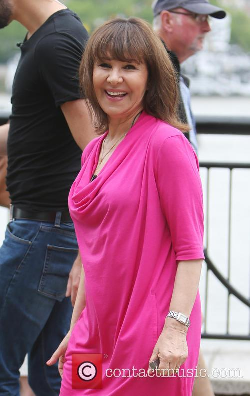 Rylan Clark and Arlene Phillips 1