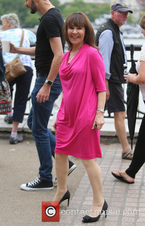 Rylan Clark and Arlene Phillips 7