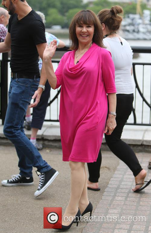 Rylan Clark and Arlene Phillips 8