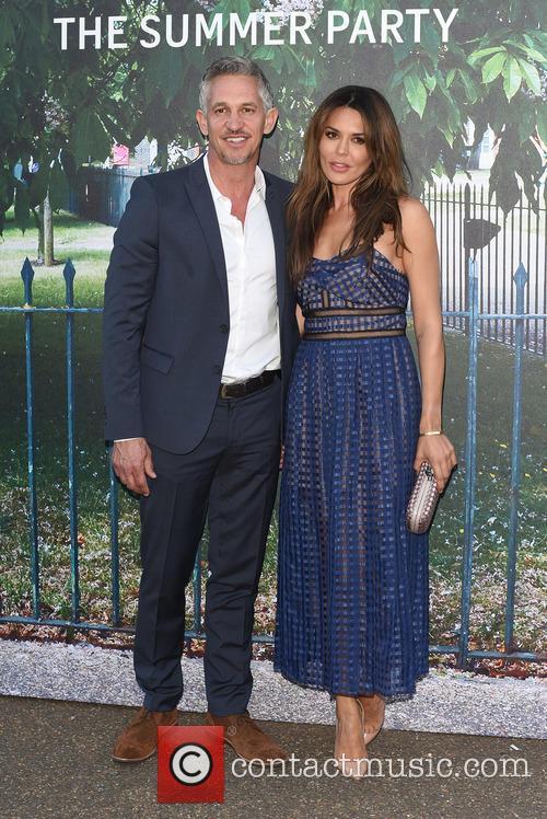 Gary Lineker and Danielle Lineker 1