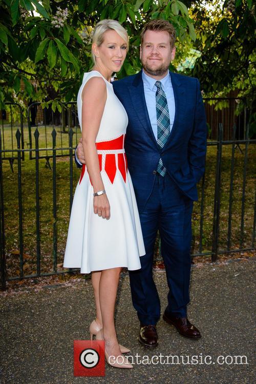 James Corden and Julia Carey 11