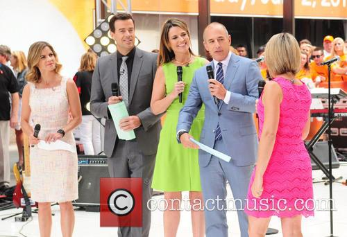 Natalie Morales, Carson Daily, Savannah Guthrie, Matt Lauer and Dylan Dryer 1