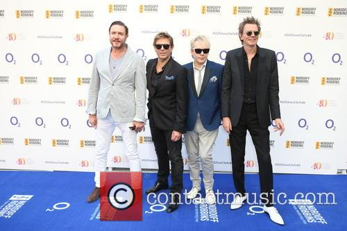 Simon Le Bon, John Taylor, Roger Taylor, Nick Rhodes and Duran Duran 4